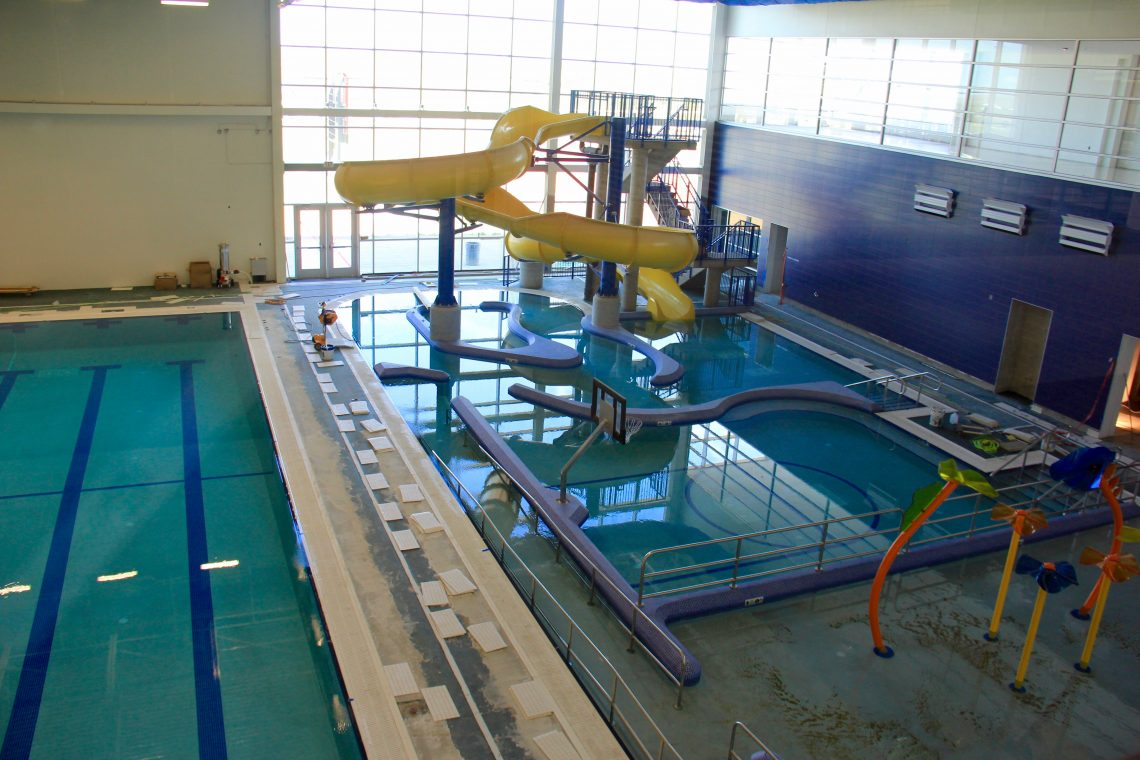 Rough rider center opens bringing with it endless - Watford swimming pool with slides ...
